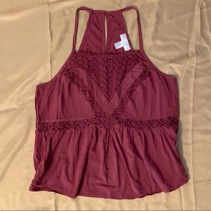 💄Forever21 Lace Tank Top💄